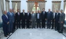 الرئيس عون: جهدنا منصب اليوم لتحسين الوضع في الجبل