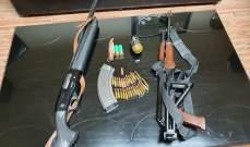 توقيف صياد مخالف أطلق النار من سلاحه الحربي باتجاه دورية قوى الامن وأصاب أحد عناصرها