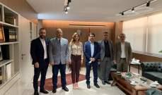 المكتب الإعلامي المركزي في حركة أمل زار عبد الصمد: للإسراع في تعيين مجلس إدارة جديد لتلفزيون لبنان