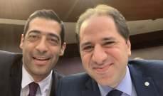 """حنكش نشر صورة جمعته بسامي الجميل: """"ضميرنا مرتاح ومنسجمين مع حالنا"""""""