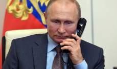 بوتين يبحث هاتفياً مع علييف وباشينيان الوضع في قره باغ
