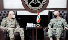 قائد العمليات الخاصة بالجيش الأميركي أكد رغبته بالعمل مع الجيش لتجاوز التحديات