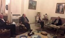 البزري التقى وفد تجمع المؤسسات الأهلية في صيدا