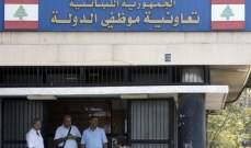 إقفال تعاونية موظفي الدولة بالبقاع لمدة ثلاثة أيام بعد إصابة موظف بكورونا