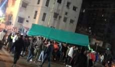 هدوء في صيدا بعد اشكال بن المتظاهرين والجيش اثر ازالته خيمة الاعتصام