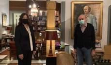 جنبلاط التقى السفيرة الأميركية وبحث معها آخر التطورات