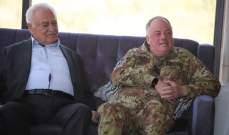 قائد اليونيفيل زار رئيس بلدية شبعا