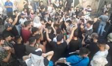 النشرة: استمرار إغلاق مداخل مخيم عين الحلوة لليوم الرابع على التوالي