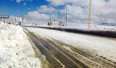التحكم المروري: طريق ضهر البيدر سالكة امام جميع المركبات