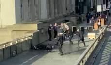 الشرطة البريطانية: منفذ حادث الطعن عند جسر لندن مدان سابق باتهامات لها علاقة بالإرهاب