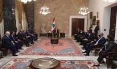 الرئيس عون: نسعى لتأليف حكومة لنتمكن من التفاوض مع المؤسسات المالية الراغبة بالمساعدة