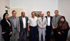 أبو سعيد أبرق لغوتيريس متناولا الاستراتيجية الدفاعية وتجاوزات السفيرة الأميركية