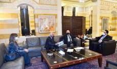 دياب بحث مع حب الله وصناعيين امكانية تصنيع لقاحات في لبنان بالتعاون مع روسيا