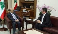 الرئيس عون استقبل سفير لبنان باليابان ومقصود ووفدا من مجلس كتب العدل