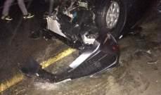 حادث سير على طريق عام كفرا الجنوبية