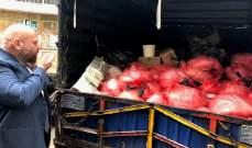 مصادرة شاحنة محملة بالمأكولات الفاسدة في البداوي