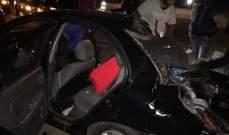 النشرة: قتيلان وجريحان بحال خطرة في حادث سير على أوتوستراد الزهراني