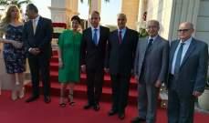 وفد من المرابطون قدم التهنئة للسفير المصري بالذكرى ٦٦ لثورة ٢٣ يوليو