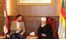 الشيخ حسن التقى تيمور جنبلاط: لإخراج البلاد من دائرة التعطيل