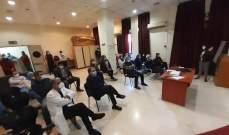 """البزري: مستشفى صيدا الحكومي جاهز لإنجاز أعمال التلقيح ضد """"كورونا"""""""