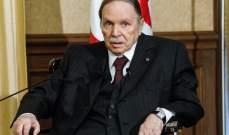 الائتلاف الحاكم في الجزائر أعلن ترشيح بوتفليقة لولاية رئاسية خامسة