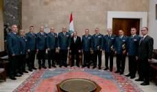 الرئيس عون التقى قائد الجيش والمدراء العامين لأمن الدولة وقوى الأمن والجمارك