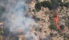 النشرة: حريق بمنطقة الوادي في شبعا والدفاع المدني يعمل على محاصرة النيران بمساعدة الاهالي