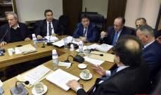 بدء جلسة لجنة المال بحضور جبق لمناقشة التوظيف والتعاقد في وزارة الصحة