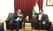 ممثل الجهاد التقى دبور وأبو العردات: العمل المشترك يحمي المخيمات