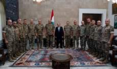 قائد الجيش أمام الرئيس عون: نستلهم منكم الحكمة في كيفية ادارة الازمات