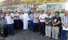 النشرة: لقاء لبناني فلسطيني في عين الحلوة رفضا لقرار وزير العمل