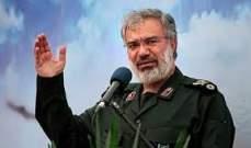 مسؤول بالحرس الثوري: اذا ارتكب الاميركيون خطأ بالخليج الفارسي سيذلون