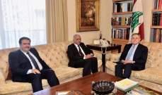السنيورة التقى السفير العراقي وعرض معه الأوضاع الراهنة