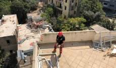 بلدية بيروت: إزالة أجزاء آيلة للسقوط من محيط انفجار المرفأ