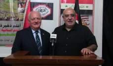 حمدان التقى رئيس الحزب الشعبي الجمهوري الفرنسي