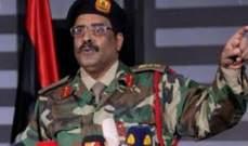 الجيش الليبي يعلن إسقاط طائرة مسيرة تركية على حدود تونس