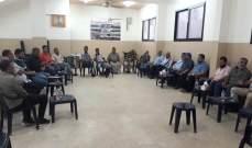 """النشرة: لقاء شعبي في عين الحلوة طالب """"الأونروا"""" اعتبار اللاجئين الفلسطينيين كافة حالات شؤون"""