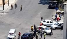 النشرة: محتجون أقفلوا جانبا من تقاطع ايليا في صيدا