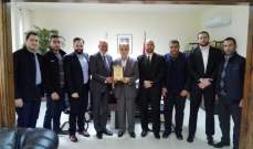 فنيش التقى وفودا وهنأ المنتخب اللبناني للتنس على فوزه في التصفيات الاسيوية لكأس ديفيس
