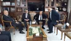 بدء اجتماع اللجنة الفنية الزراعية المشتركة بين لبنان وسوريا