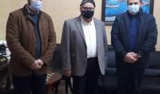 وفد من حزب الله زار السعودي وعرض معه المستجدات الصحية في صيدا