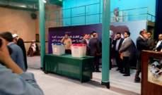 النشرة: الانتخابات الايرانية تشهد اقبالا كثيفا في ساعات الصباح الاولى