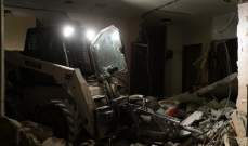 القوات الإسرائيلية هدمت شقتين بمبنى عائد لعائلة فلسطيني متهم بقتل إسرائيلية