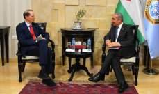 """رئيس وزراء فلسطين طالب أميركا بالتراجع عن إجراءاتها العقابية وأكد رفض """"صفقة القرن"""""""