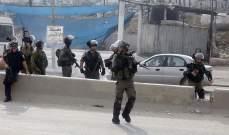 الجيش الإسرائيلي: اعتقال 8 فلسطينيين في مناطق متعددة من الضفة الغربية