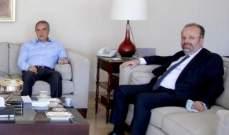 فرعون يستقبل رئيس جمعية شركات الضمان: شركات التأمين ستتحمل مسؤولياتها