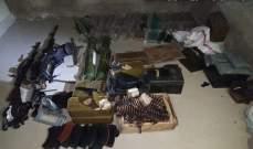 الجيش: عمليات دهم في الشراونة واصابة عدد من العسكريين وتوقيف مطلوب وضبط اسلحة وذخائر ومخدرات