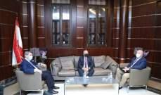 الفرزلي عرض مع روداكوف وعلوي للأوضاع العامة وآخر التطورات