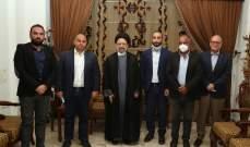 """علي فضل الله التقى حزب """"سبعة"""": لطرح تغييري قادر على إقناع الناس وقابل للتحقق"""