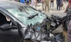 النشرة: حادث سير مروع في العكيدية بالبقاع وأنباء عن اصابات بليغة